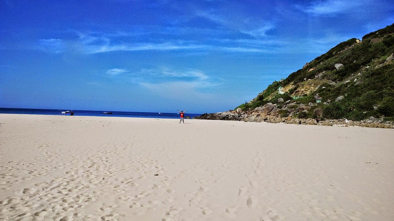 Tắm biển Bãi Môn, Mũi Điện, Phú Yên cực Đông của Tổ Quốc