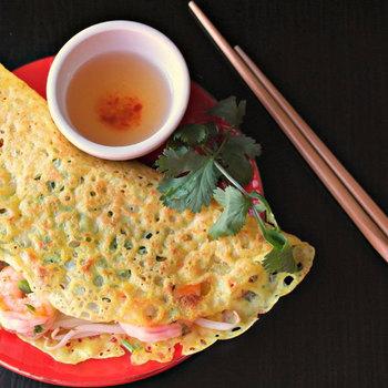 Bánh xèo hải sản Phú Yên