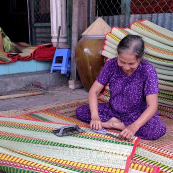 Làng nghề dệt chiếu truyền thống ở Phú Yên