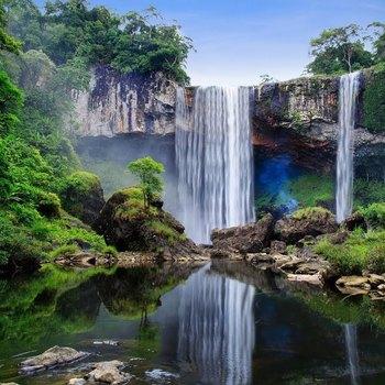 Chia rẻ review kinh nghiệm trekking thác K50 (Hang Én) Kon Chư Răng kbang Gia Lai tự túc