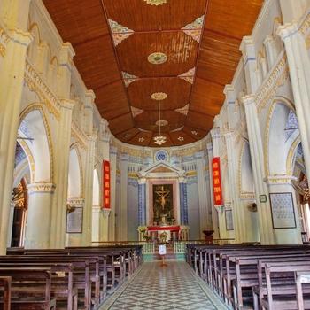 Giờ lễ của nhà thờ Mằng Lăng Phú Yên