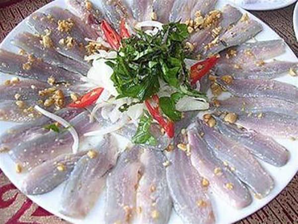 Gỏi cá Diếc - Món ngon Phú Yen