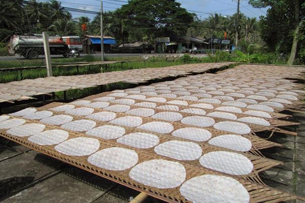 Bánh tráng Hoà Đa - Món ngon Phú Yên