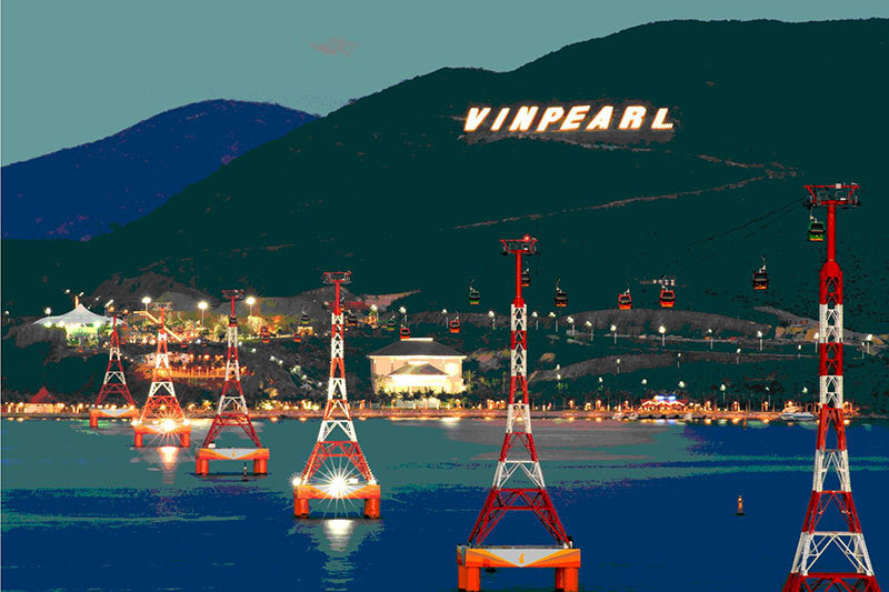 Cáp treo Vinpearl Land Nha Trang