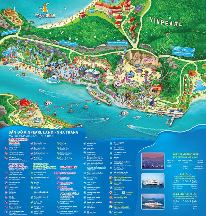 Khu trò chơi Vinpearl Land Nha Trang