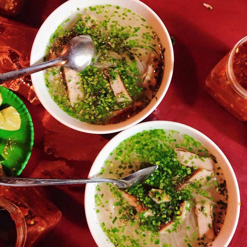 Bánh canh hẹ Phú Yên