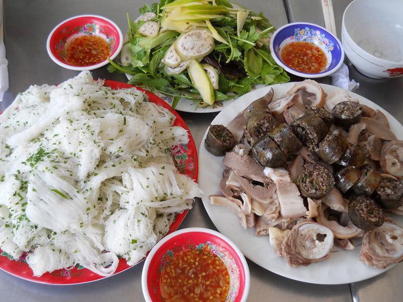 Bánh hỏi lòng heo Hoà Đa, Phú Yên
