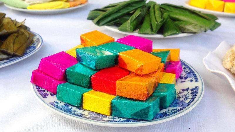 Bánh cộ xuất phát từ cung đình Huế, đặc sản của Huế.