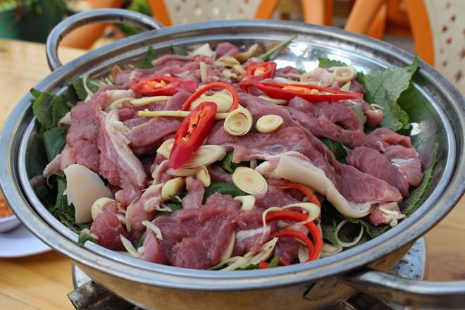 Cổ Thịt Dê Phú Yênnấu bia