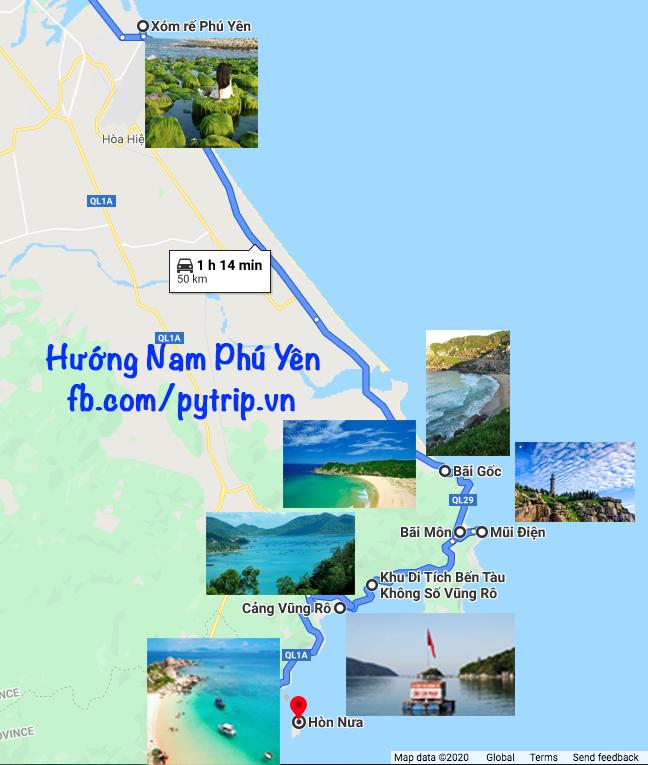 Tour Nam Phú Yên